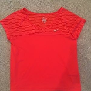 Nike coral workout dri fit too